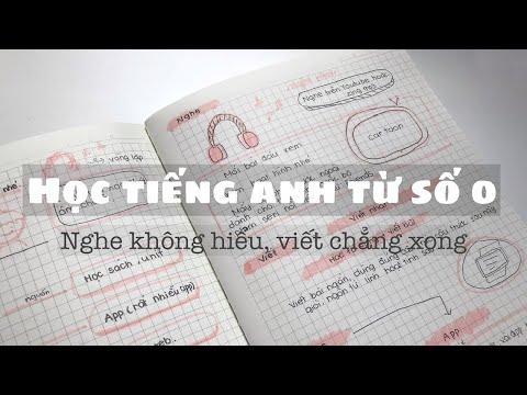 Học tiếng Anh từ số 0 cho người mới bắt đầu// How I improve English language?