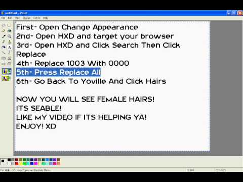 Yoville How To Get All Female Hairs