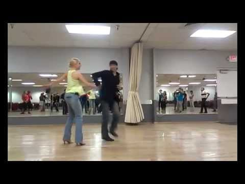 Salsa class Sunday night at Paragon Dance Center in Tempe.