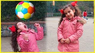 Misafirliğe Gittik, Bahçede Çocuklar ile İstop Oynadık l Eğlenceli Çocuk Videosu