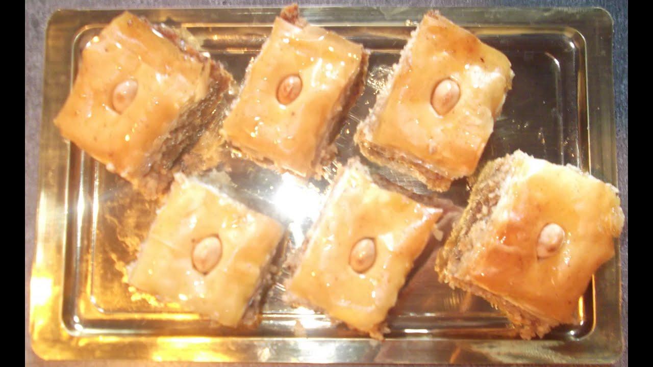 Recette gateau aux noix et amandes