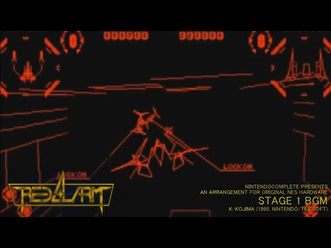 ♫RED ALARM (Stage 1 BGM, Virtual Boy)  NES Arrangement - NintendoComplete