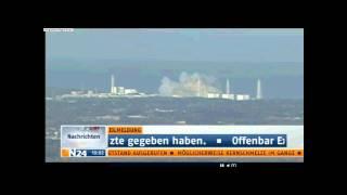 Explosion und  Kernschmelze im Reaktor Fukushima 12.03.2011