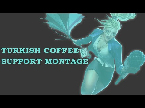 TURKISH COFFEE BEST SUPPORT NA? (Challenger Support Montage) - LEAGUE OF LEGENDS 2018