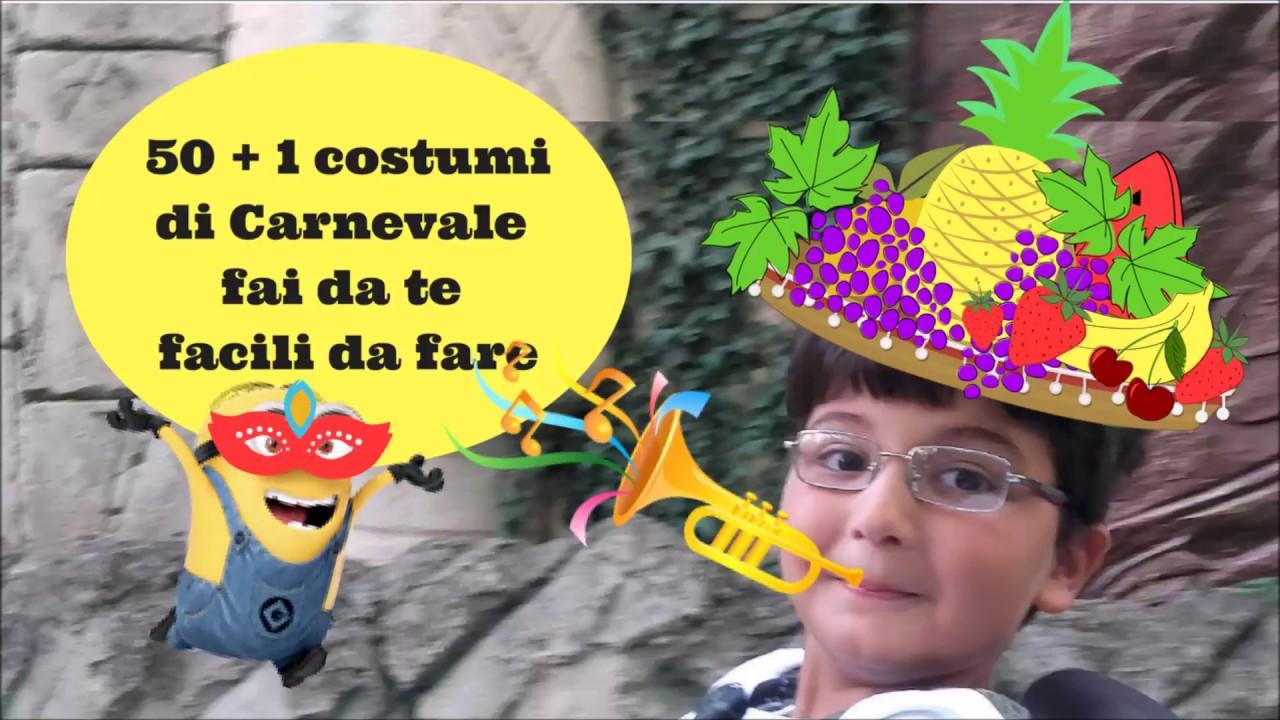 Vestiti Carnevale veloci fai da te per bambini e adulti ...