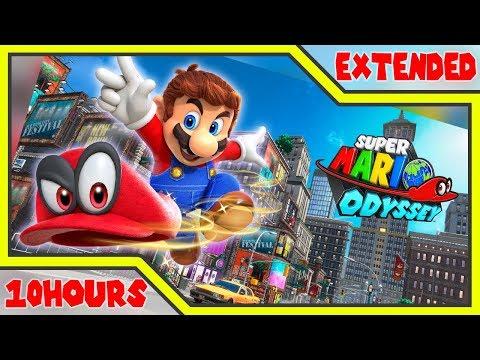 [10 Hour] Cascade Kingdom (Fossil Falls) - Super Mario Odyssey Music Extended