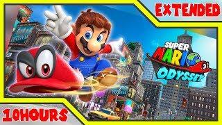 [10 Hour] Cascade Kingdom (Remix) (Fossil Falls) - Super Mario Odyssey Music Extended