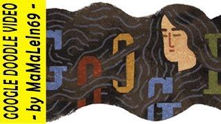 与謝野晶子 Akiko Yosano Google Doodle - On December 07. 2014 Google...