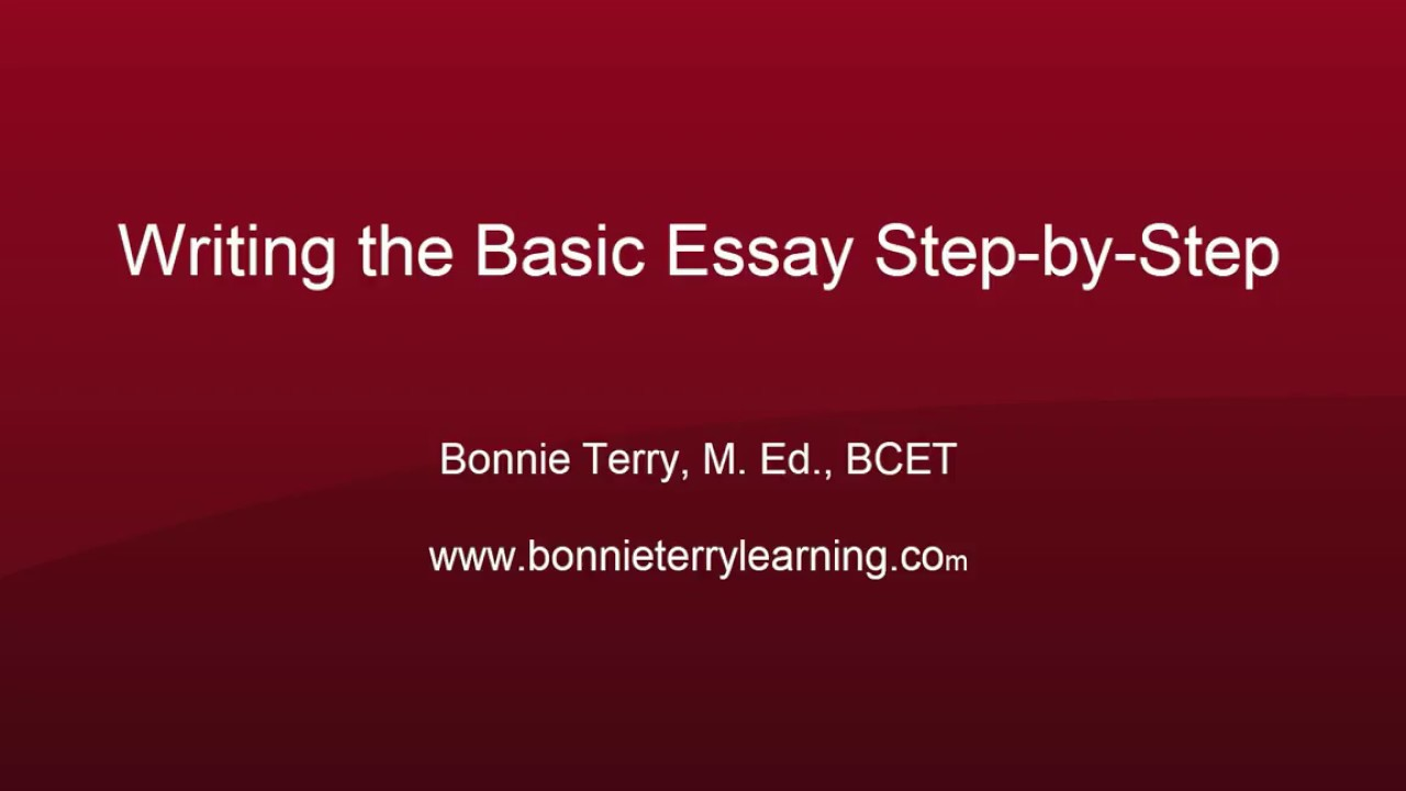 writing the basic essay step by step east easy writing organize  writing the basic essay step by step east easy writing organize your essay