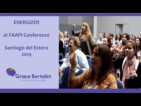 ENERGIZER at FAAPI 2014 Conference - Santiago del Estero-Argentina