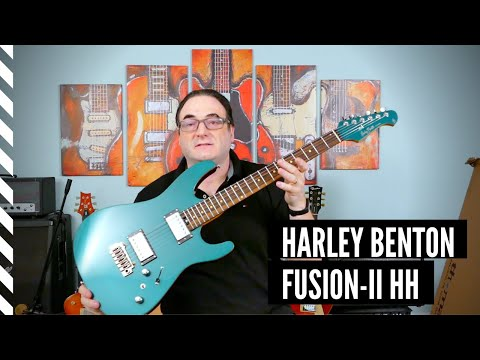 New Harley Benton Fusion-II guitar- I can't believe it!