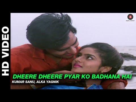 Dheere Dheere Pyar Ko Badhana Hai - Phool Aur Kaante | Kumar Sanu, Alka Yagnik | Ajay Devgn & Madhoo