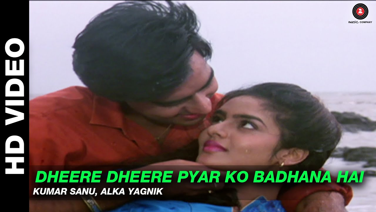 Download Dheere Dheere Pyar Ko Badhana Hai - Phool Aur Kaante | Kumar Sanu, Alka Yagnik | Ajay Devgn & Madhoo