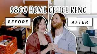 Cover images *EMOTIONAL*   $800 Industrial Home Office Makeover