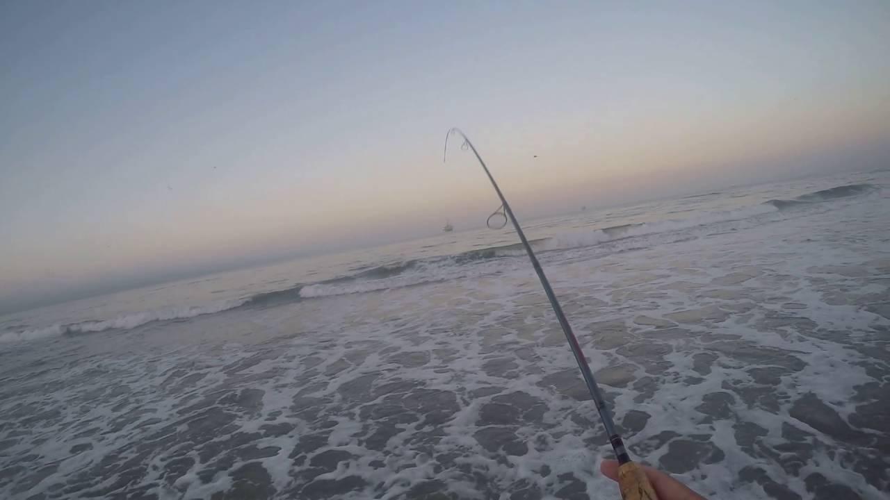 Surf Fishing Huntington Beach