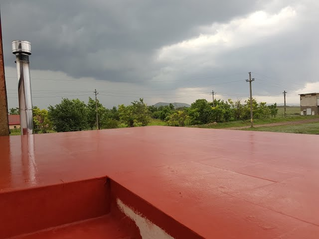 Hidroizolatie terasa cu gresie.