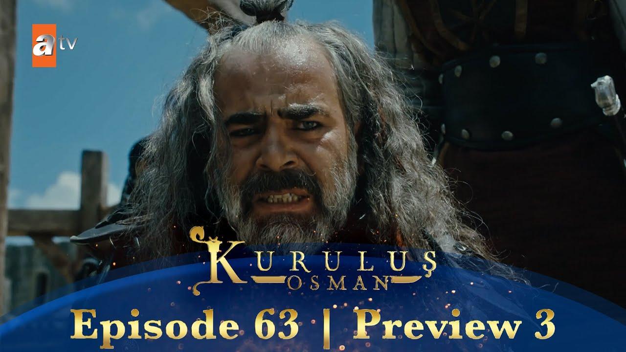 Kurulus Osman Urdu | Episode 63 Preview 3