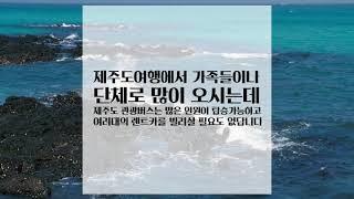 제주미니버스 제주관광버스렌트   친절한 고실장