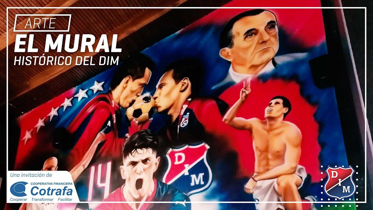 [ Arte 🔴🔵👏] El mural histórico del DIM