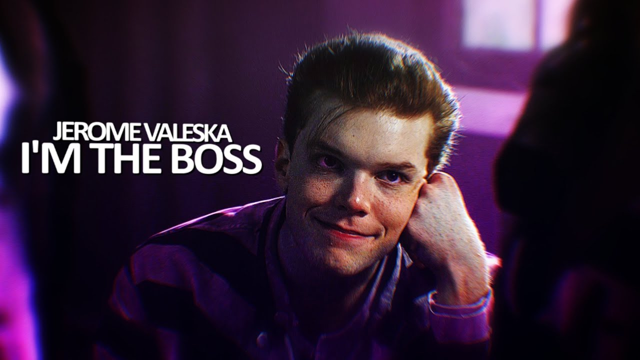 Joker Hd Wallpapers With Quotes I M The Boss Jerome Valeska Youtube