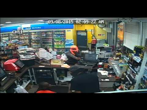 Shell Gas Station Robbery