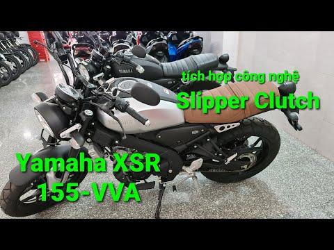 Review Yamaha XSR155-VVA tích hợp công nghệ Slipper Clutch kiểu dáng cổ điển đẹp chất từng chi tiết.
