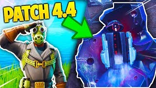 THE NEWS you DON'T know about FORTNITE's PATCH 4.4 !