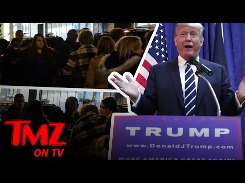 Donald Trump Causes Some Commotion at His Favorite NYC Restaurant | TMZ TV