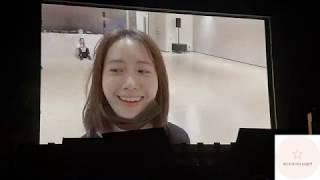 180928 YoonA VCR Dance practice So Wonderful Day in SG