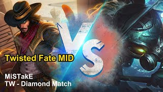 【MiSTakE】逆命 Twisted Fate [MID] vs Fizz feat. Bebe | S10 Patch 10.7 | 2020/04/22
