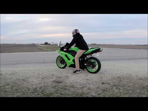 2008 Kawasaki Ninja ZX6R Full Throttle Review
