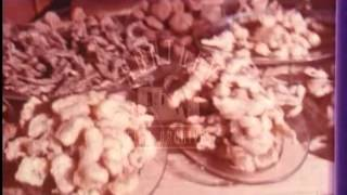Tapas Bar in Majorca, 1970's.  Archive film 94663