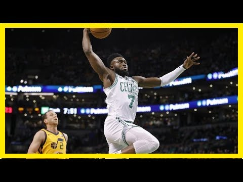 Battered jazz rise up and stun celtics | new hampshire