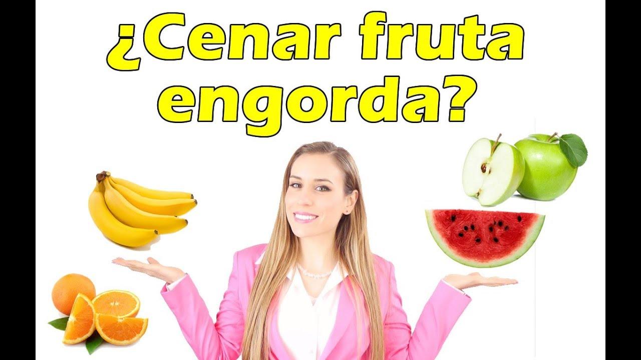 Cenar fruta ayuda a adelgazar