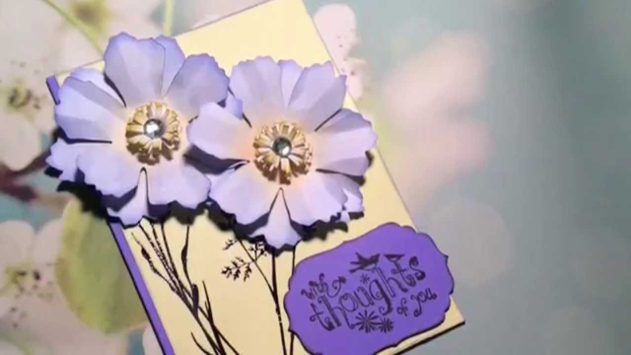 Happy Monday 1 Pretty Spring Greeting Card Youtube