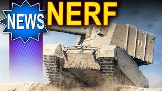 Nerf dla japońców i lodówki oraz stare czołgi - World of Tanks