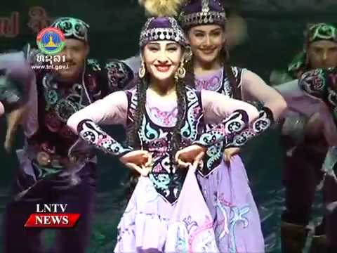 Lao NEWS on LNTV: A Xinjiang, China Culture Week.9/10/2016