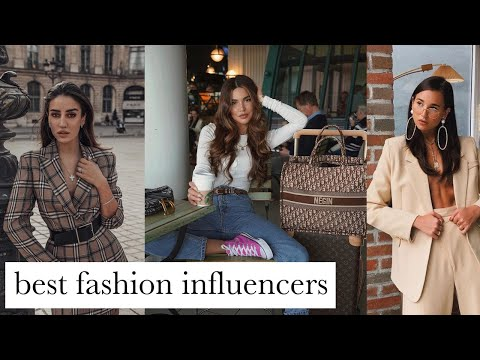 Best Fashion Influencers! My Top 5 Influencers To Follow NOW!