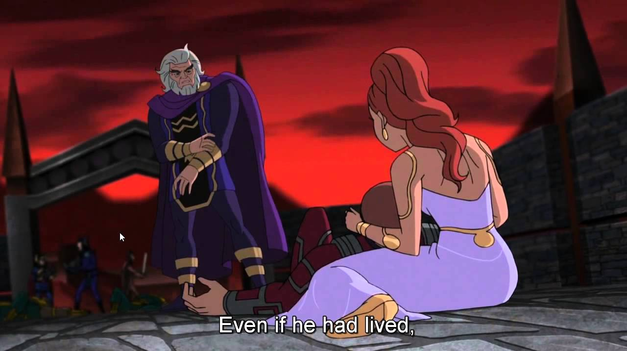 Download Justice League: Gods and Monsters wedding scene