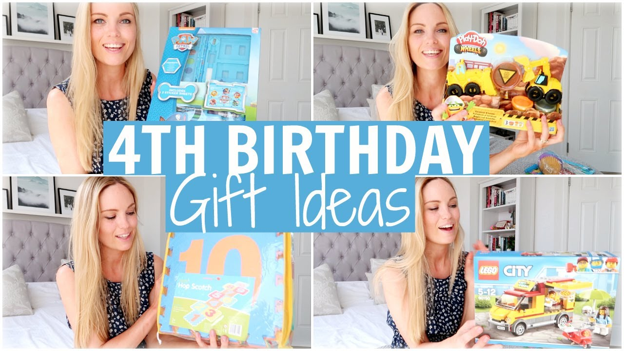 4 Year Old Birthday Present Haul 4th Birthday Gift Ideas Alex Gladwin Youtube