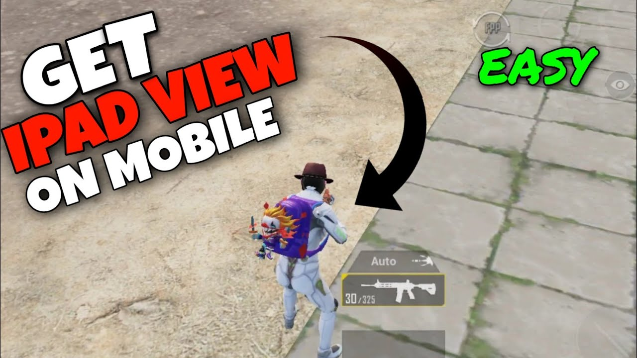 How To Get IPAD View In Mobile!!! | Android And ios | PUBG MOBILE