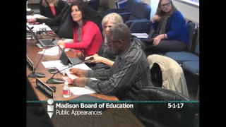 Board of Education Special Meetings and Instruction Work Group 5 1 2017