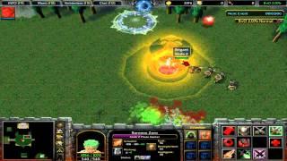 Warcraft 3 Bleach vs. One Piece part 1