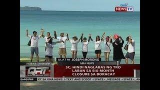 QRT SC hindi naglabas ng TRO laban sa six-month closure ng Boracay