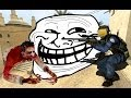 Counter Strike Source ZOMBIE Map EPIC CHAT TROLLING !