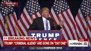 Trump: Deport Hillary Clinton, Just Like Criminal Illegal Immigrants Who Have Evaded Justice