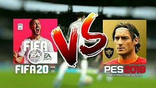 FIFA20 Mobile Vs PES2019 Mobile