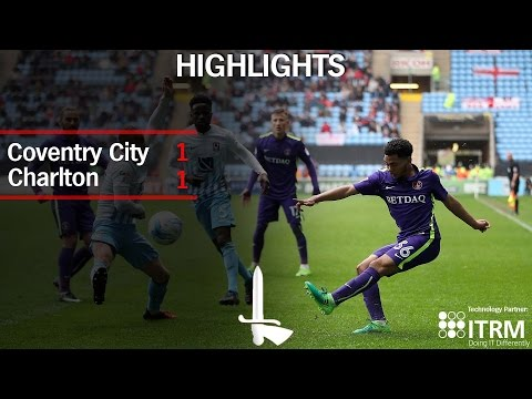 HIGHLIGHTS | Coventry CIty 1 Charlton 1