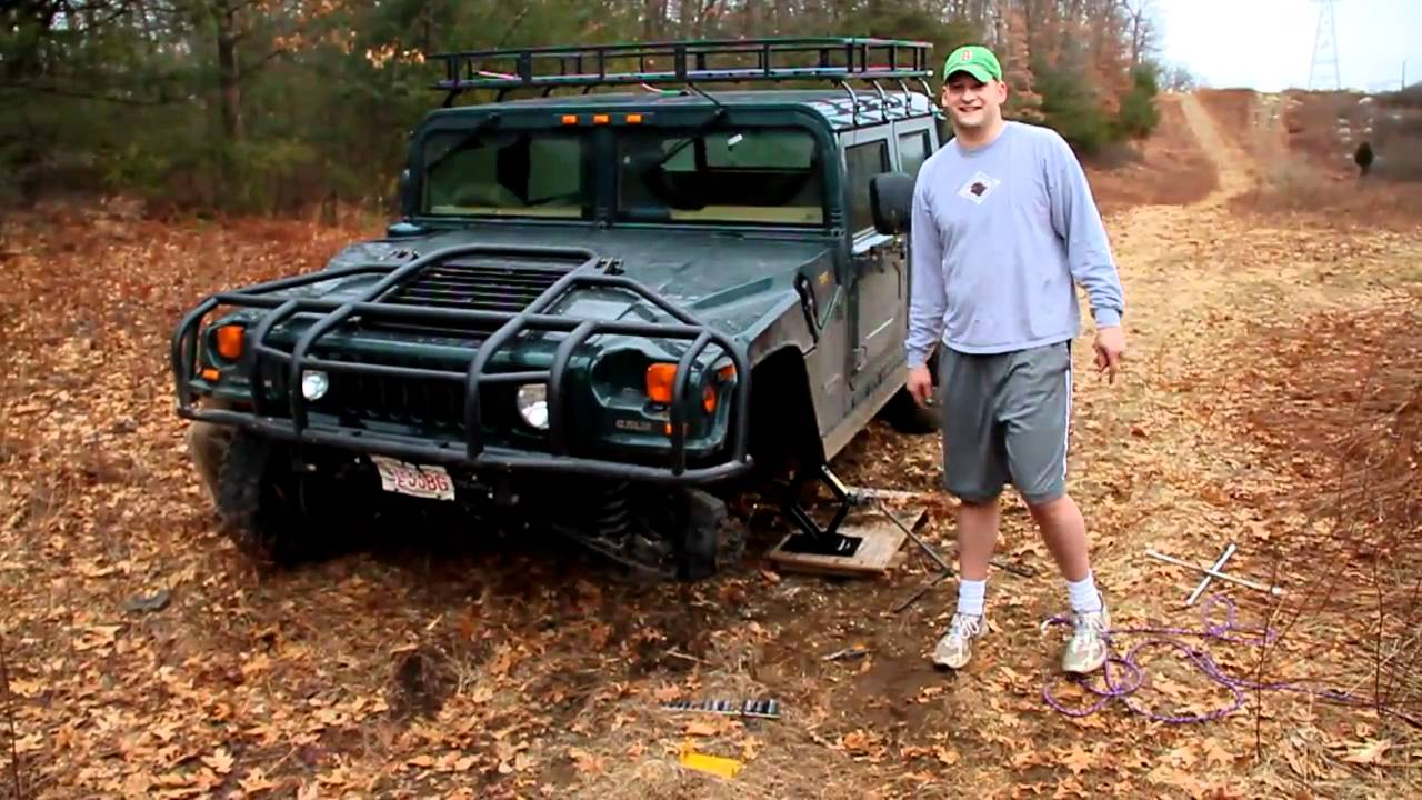 Broken Hummer H1 Tires.MOV - YouTube