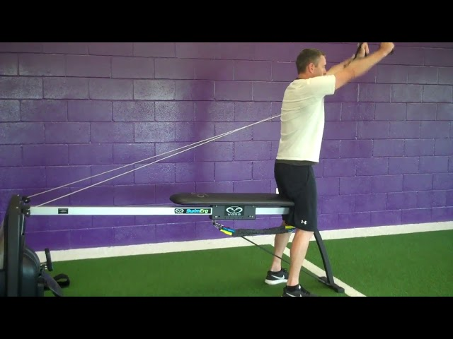 Vasa Erg warmup with Cuffs and Shoulder Prehab with Tim Crowley